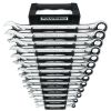 13 Pc. XL Combination Ratcheting Wrench Set SAE