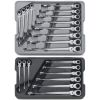 XL X-Beam Flex Combination Ratcheting Wrench Set