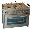 No Longer Available: OceanChef XL 5 Burner Extra Large Marine Gas Stove