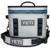 Discontinued: Hopper Flip 12 Qt Soft Cooler - Gray & Blue