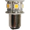 Blue LED Hex GE90 Star Double Contact Bayonet Bulb