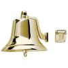 """Fig. 0150 Fog Bell - 8"""" Polished Cast Bronze"""