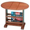Small Drop Teak Leaf Table