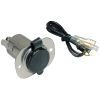 12V Receptacle with Protective Cap