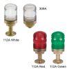 Figs. 112A & 309A - All-Round Bronze Navigation Lights