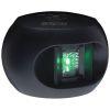 Aqua Signal Series 34 LED Navigation Lights - Starboard Side, Black Housing