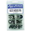 80 Piece Nut & Washer Kit