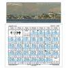 2020 Seattle Tide Graph Calendar