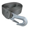 "angled view of Gator Tuff 2"" Winch Strap with Sewn Loop End - 20 or 25 ft"