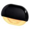 Hella Easy Fit LED Courtesy Lamp - Amber Lamp, Black Trim
