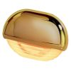 Hella Easy Fit LED Courtesy Lamp - Amber Lamp, Gold Trim
