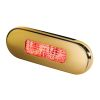 Hella LED 9680 Series Oblong Step Lamp - Red Lamp, Gold Trim