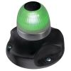 Hella NaviLED 360 - All-Round Navigation Light - Green, Black Base