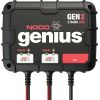 GEN2 Genius On-board Battery Charger, 2 Banks/20A