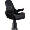 black 4 of Shoxs SHOXS 3400 Bucket Seat, Black