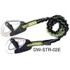 Spinlock Safety Tether - 2 Safety Clips, Stretchable Safety Line