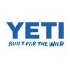 blue of Yeti Coolers Built for the Wild Window Decal
