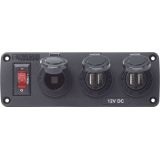 Blue Sea Systems 12 Volt Marine Plugs and Sockets