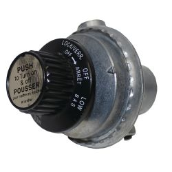 GAS REGULATOR W/CONTROL KNOB SBQ