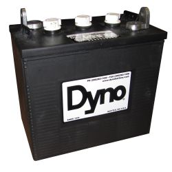 6V. 260 AMP  77# FLAG TERM BATTERY