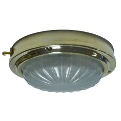 "Davey & Co. 6-3/4"" High Profile LED Cabin Dome Light - Warm White LED, With Switch"