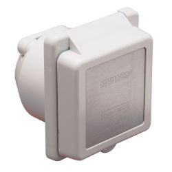 30A 125V POWER INLET W/SS TRIM