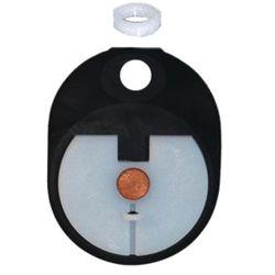 GASKET ASSY W/PLASTIC WEIGHT F/K TOILET