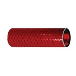 Series 166 Reinforced PVC Hose - Red, FDA Approved