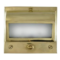 Recessed Square LED Berth Light - with Switch