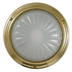 Cabin LED Light - Low Profile - Brass