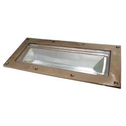 "2414-gm-250 of Davey & Co. Deep Frame Rectangular Deck Prism Light - 5-3/4"" x 12-1/4"" Overall"