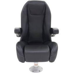 No Longer Available: Black Label Mid Back Helm Seat - Flip Up