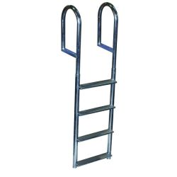 Dock Edge Aluminum Fixed Ladder Wide Step