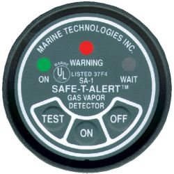 In Dash Gasoline Fume Detector