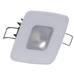 "2-5/8"" Square Mirage Recess LED Down Light - Glass"