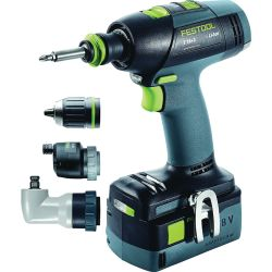 Discontinued: T 18 Cordless Drill AirStream Set