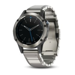 Discontinued: quatix 5 Sapphire Multisport GPS Smartwatch - Stainless Steel with Metal Band