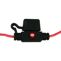 ATM Mini Style Inline LED Fuse Holder