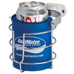 BoatMates First-Mate Stainless Steel Drink Holder