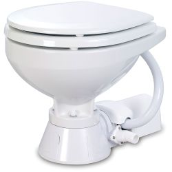 Jabsco Electric Marine Toilet - 12V, Compact Bowl