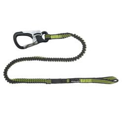 Spinlock Performance Safety Tether - Hitch Loop, 1 Custom Clip, Stretch Safety Line
