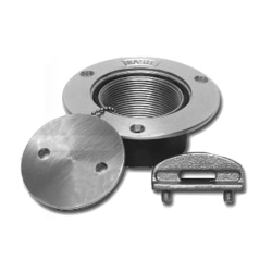 1-1/2IN SS WATER PIPE DECK PLATE