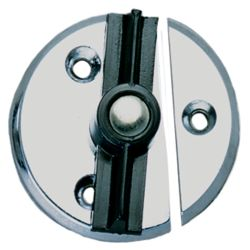 CHR ZINC DOOR BUTTON NO SPRING