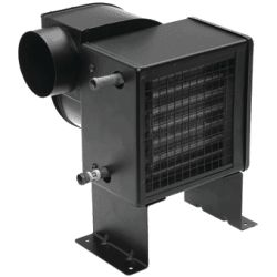 12V CABIN HEATER SINGLE FAN 4IN