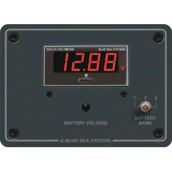 DC Digital Voltmeter Panel