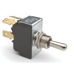 D.P.D.T., HEAVY DUTY TOGGLE SWITCH