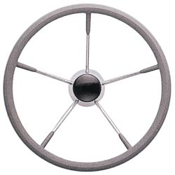15.5IN GRAY GRIP STEERING WHEEL
