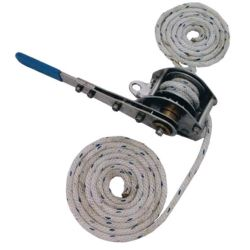 WEAVER WINCH 400# LIFT S.S./BRASS