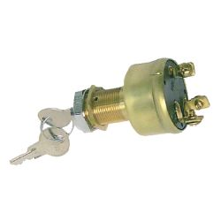 Ignition Switch- Brass Style