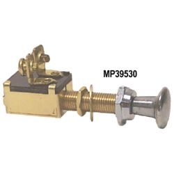 2 Screw Terminals Off-On Push Pull Switch